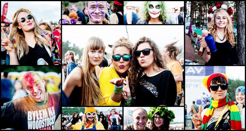 Ludzka mozaika, czyli Przystanek Woodstock 2015